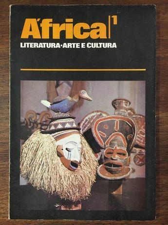 revista áfrica, numero 1 literatura arte e cultura
