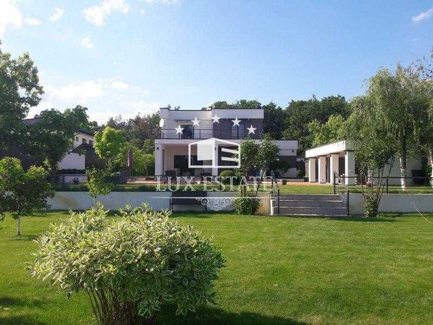 БЕЗ%,Аренда нового дома с бассейном(236м),с.Круглик,20 соток,4 спальни