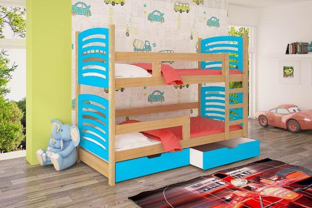 Nowe młodzieżowe 2 osobowe łóżko ! Model Olek! Kolory do wyboru