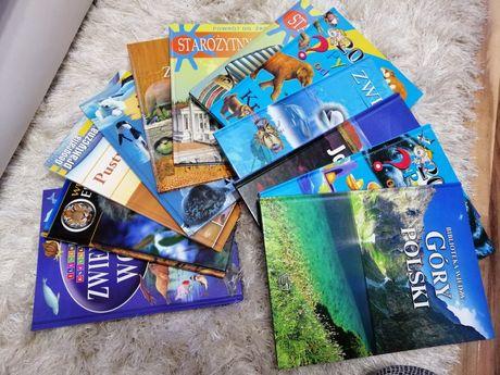 Książki przyrodnicze dla dzieci stan idealny 10 zł sztuka