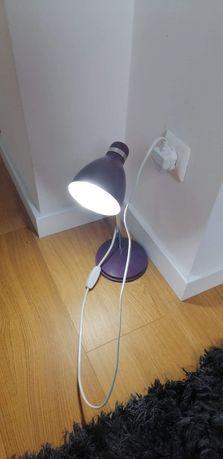 Lampka biurowa fioletowa