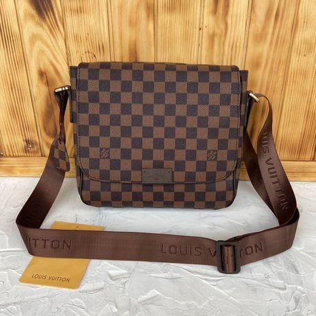 Мужская сумка через плечо Louis Vuitton LV Чоловіча сумка стильная