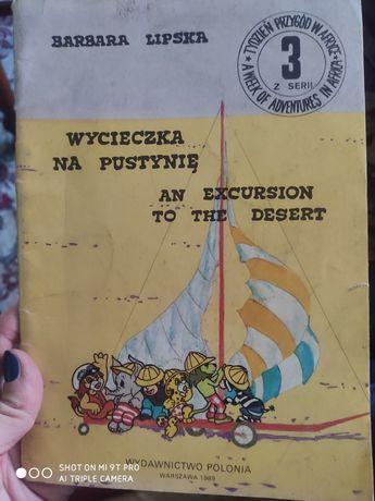 Książka z czasów prl. Bajka polsko angielska. 1989. Wydanie 1
