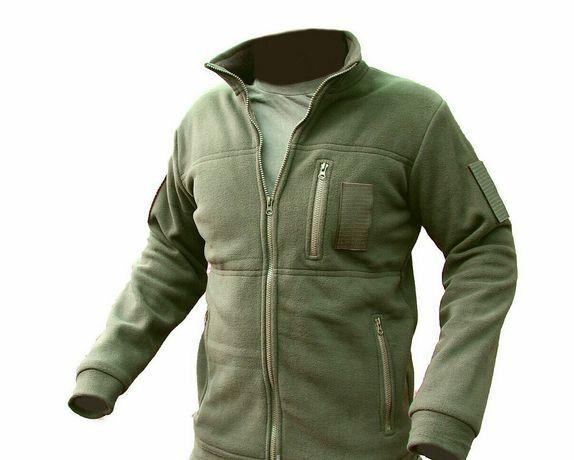 Армейская Флисовая кофта Хакки - теплая