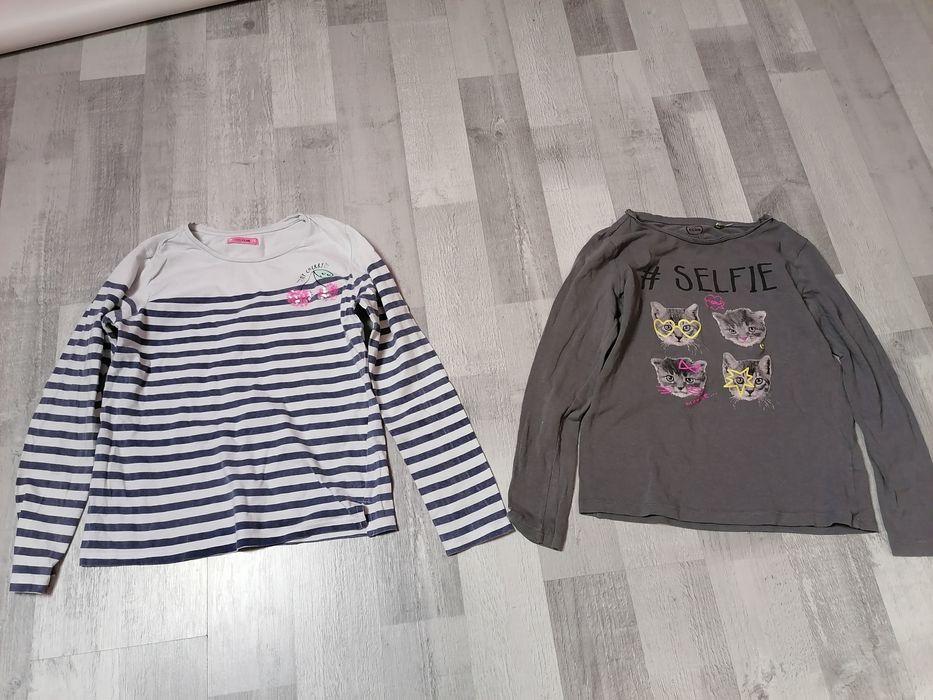 Dwie bluzeczki ze Smyka na szczupłą rozm 140 Wejherowo - image 1