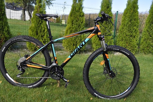 rower Giant talon 2 koła 27.5 deore xt  rama M hydraulika