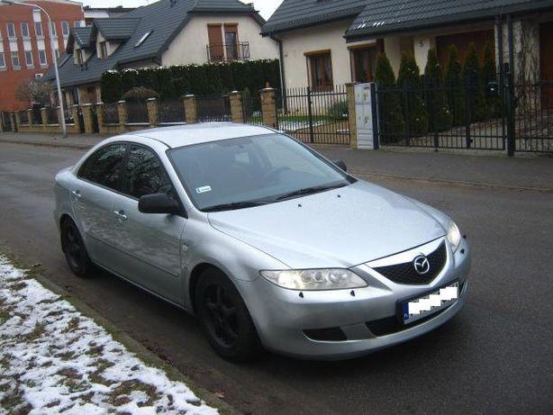 Mazda 6 2.3 benz. KLIMA Sprow. Zarej. 2004r.