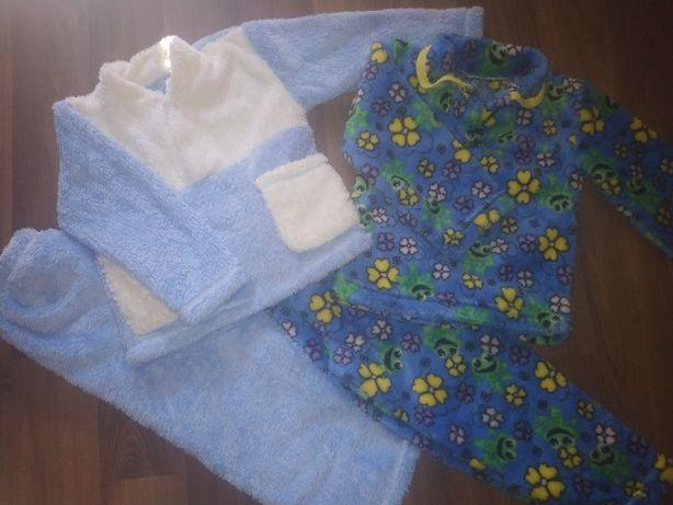 Пижамы махровые 2шт Новые