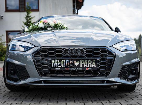 Auto Do Ślubu Z Kierowca. Audi A5, Super cena, Wolne Terminy