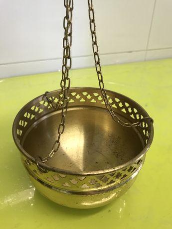 Taça de cobre para pendurar