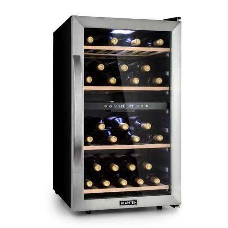 Klarstein lodówka do wina 2 strefy 118l 45 but