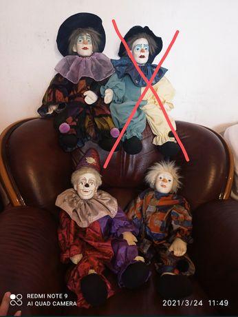 Коллекционные фарфоровые куклы, клоуны, арлекины Kein Spielzeug