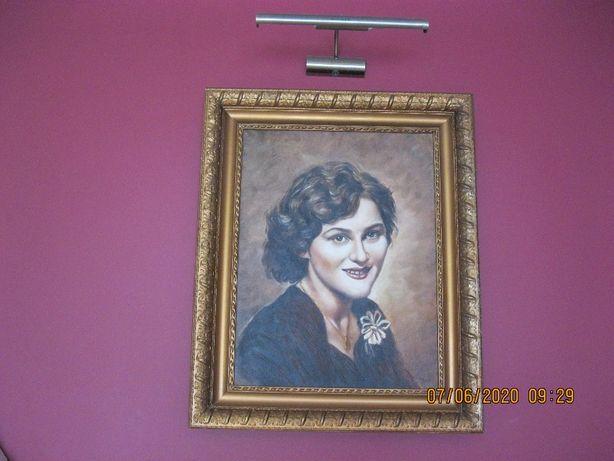 Obraz olejny - portret