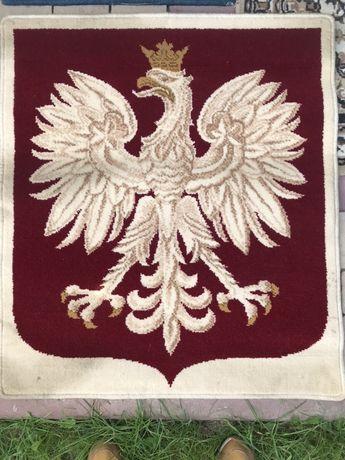 Gobelin godlo Polski orzeł