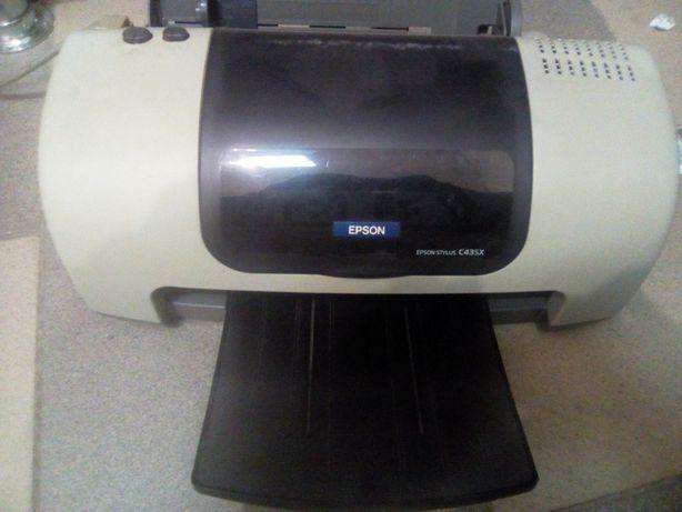 Продам на запчасти  принтер Epson С43SX