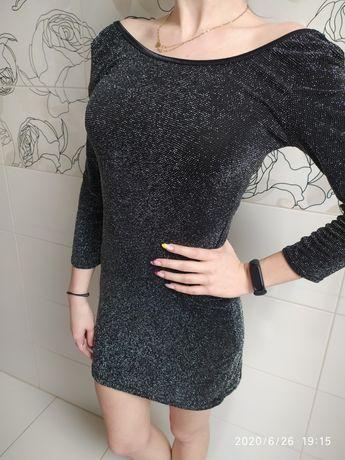 Błyszcząca sukienka