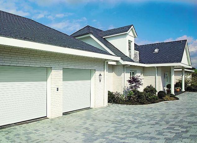 Producent Brama garażowa segmentowa Bramy garażowe przemysłowe 2,98*2