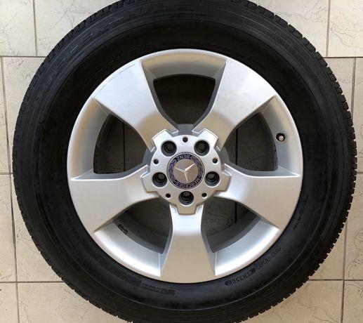 Koła Mercedes R17 255/55 z oponami Bridgestone warto!