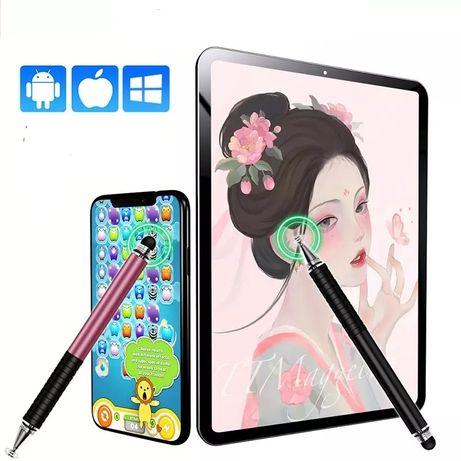 Стилус Stylus Pen 2 в 1  для  рисования и игр на планшете смартфоне