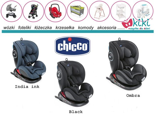 Chicco fotelik seat4Fix 0-36kg Grupa 0+/1/2/3 black india ink ombra