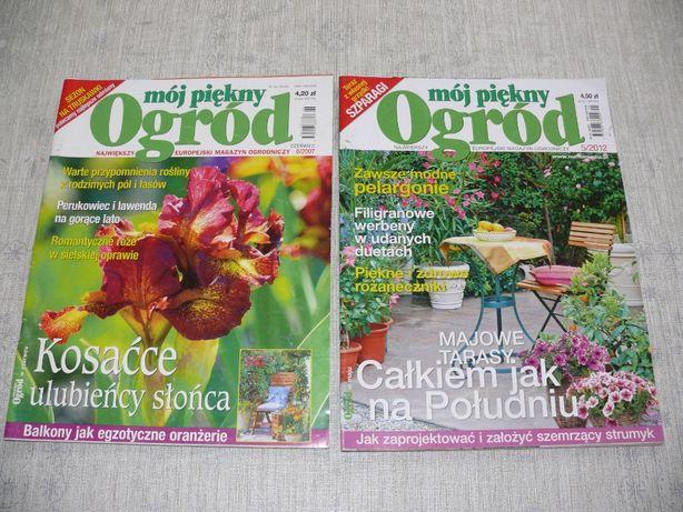 Mój piękny ogród, 14 sztuk, różne roczniki, czasopismo, poradnik
