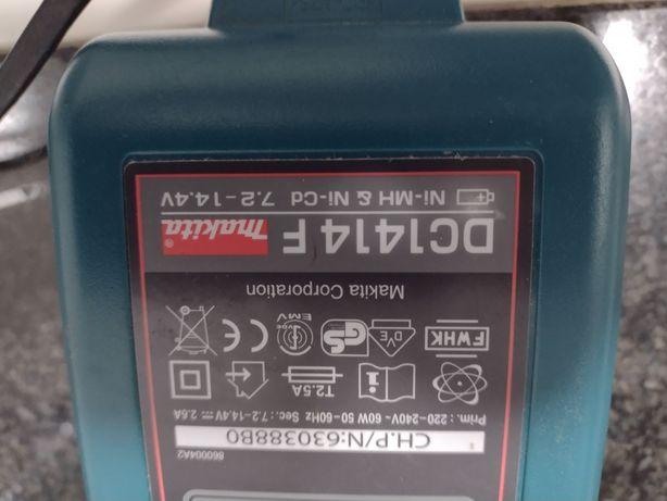 Carregador e bateria MAKITA de 14.4 volts