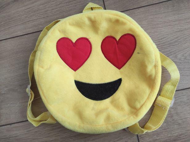 Plecak emotikona serce