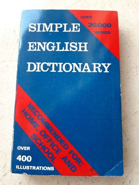 Simple English Dictionary Prosty Słownik Języka Angielskiego