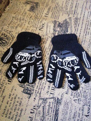 Перчатки двойные тёплые