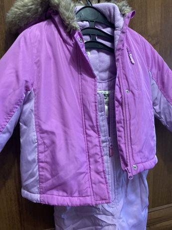 Зимний комбинезон куртка штаны 4 года