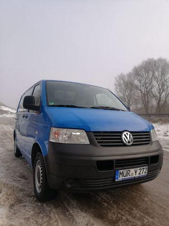 VW T5 2,5 tdi 130km klima esp 1właściciel el.szyby airbag 2008 Niemcy