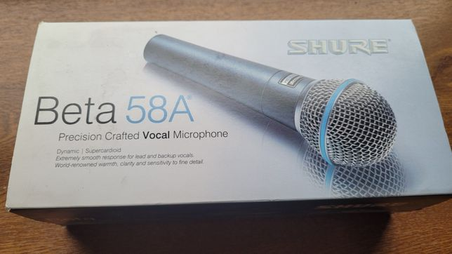 Mikrofon Shure Beta 58A oryginał