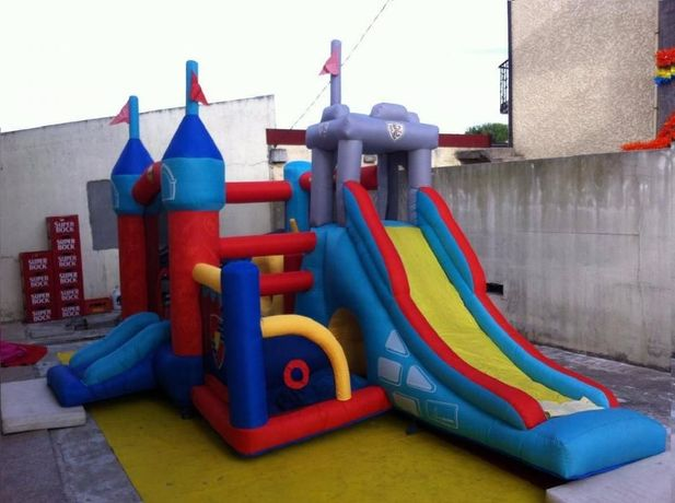 9021-Insuflável Knights Temple Jumping Castle