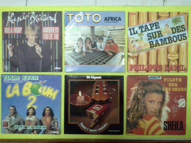 48 discos de VINIL (diversos tipos de música)