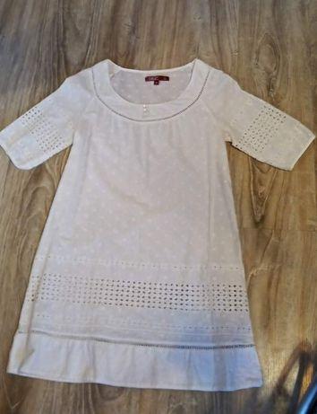 Biała sukienka rozm. M