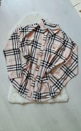 Koszula w kratę burberry krata angielska nowa kolekcja