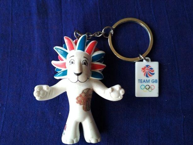 Лев.Талисман Олимпийских игр. 2012г. Лондон.