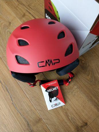 CMP kask narciarski 52/54 nowy