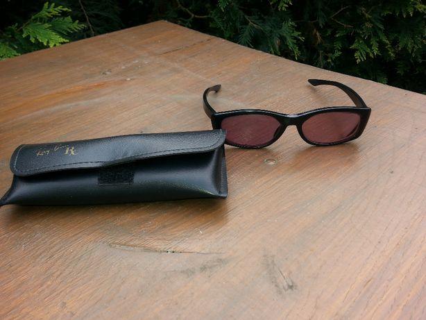 okulary oprawki z futerałem RayBan