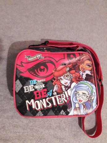 Torebka, pojemny, wodoodporny kuferek Monster High