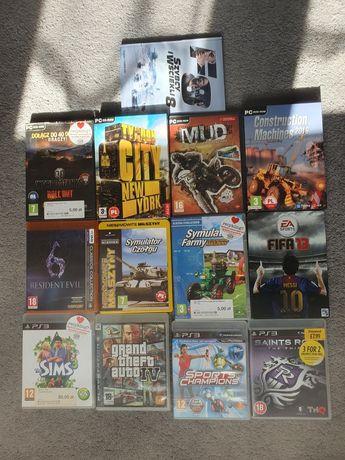 Różne gry na PC i PS3