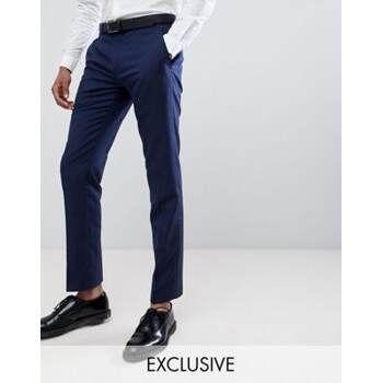 Męskie NOWE garniturowe spodnie ASOS 40 M Skinny Suit Len