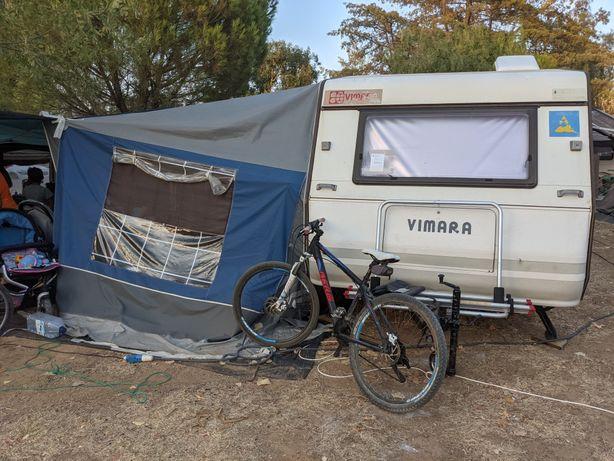 Caravana Vimara 360 com toldo em bom estado