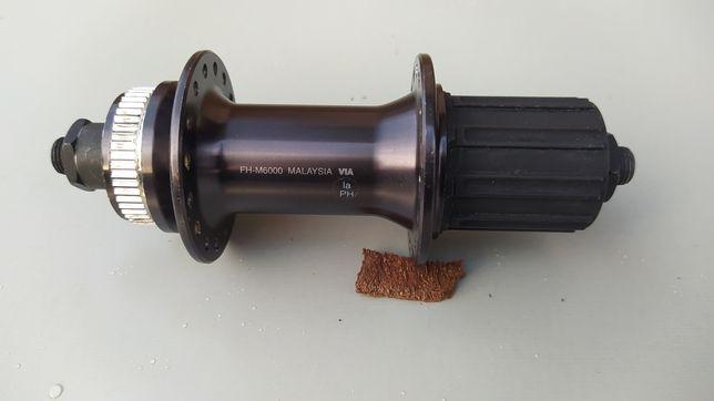Piasta tylna shimano fh-m6000 qr9 135x9 32h szybkozamykacz glosna