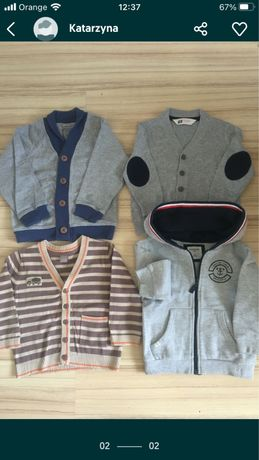 Bluzy sweterek smyk h&m reserved r 92