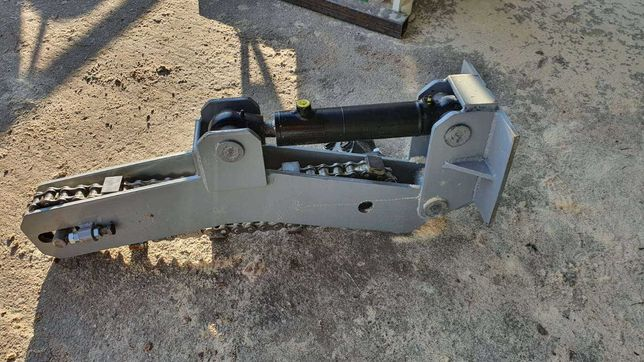 Obracak kłody łańcuchowy hydrauliczny/ trak taśmowy