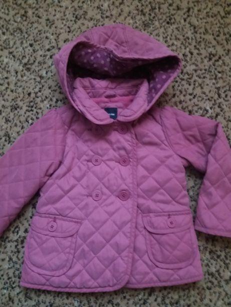 фирменная куртка, пальто весна- осень 92-98 см