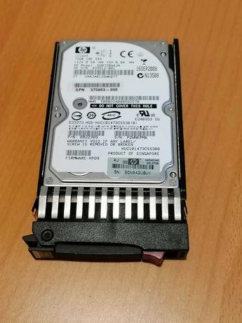 Disco rígido HP SAS 10K 72GB