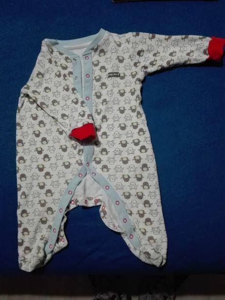 pajac piżamka Coolclub,rozmiar 74