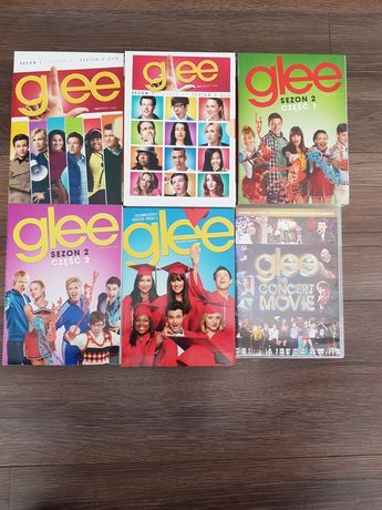 DVD - serial Glee